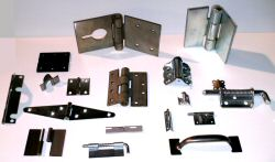 samples of some of the hinges we manufacture and distribute